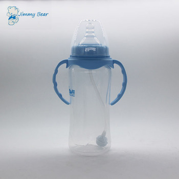 Hot sale 11OZ BPA free plastic feeding bottle baby