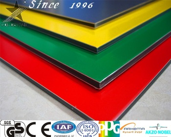 4x8 plastic sheets advertisement sign board Aluminum composite panel