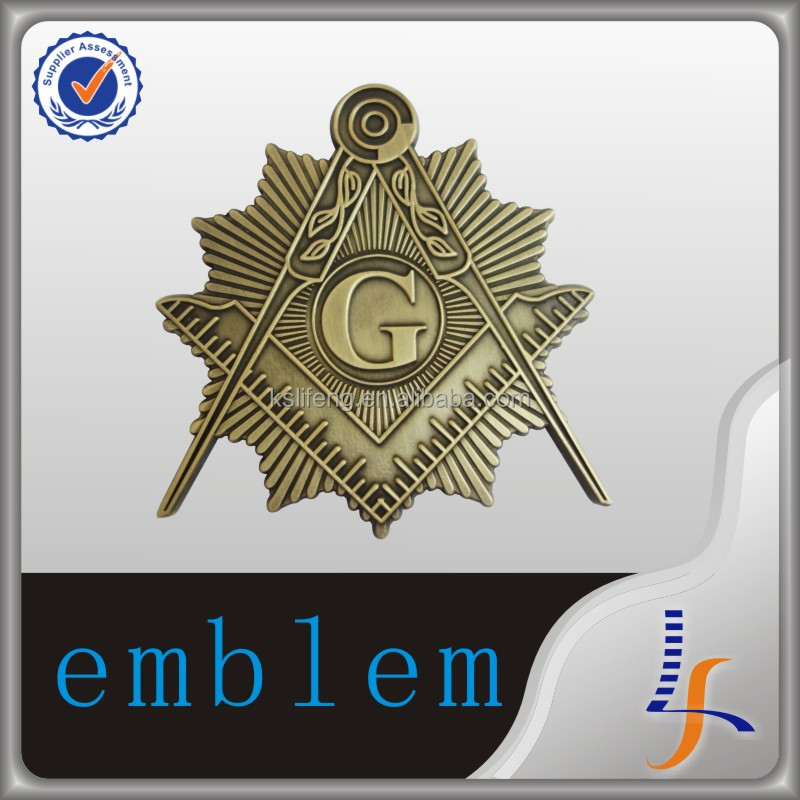 new production masonic car emblem badge maker masonic