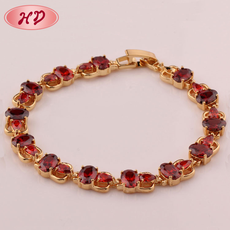 for red plated bracelets collections large danish rose selection design gold women of jewellery bracelet