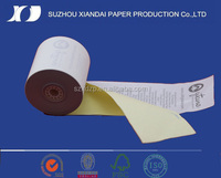 2016 top seller 2-ply W/C Carbonless Paper Roll