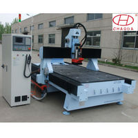 Low cost!!! CHAODA atc cnc headboard engraving router machine for sale