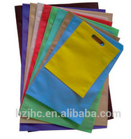 Recycled pet / pp polyester spunbond non woven fabric bags material