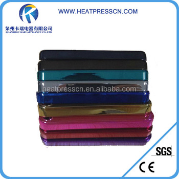 2014 High quality Sublimation Electroplate Phone Case for iPhone 5S