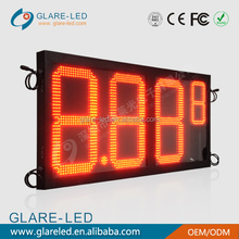 5000nits high brightness led gas price charge display
