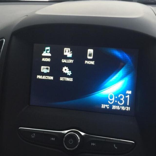 2017 Chevrolet Captiva Mylink GPS navigation with Reverse Camera input