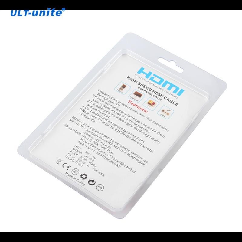 3 in 1 Mini Micro HDMI to HDMI Cable 1.5m