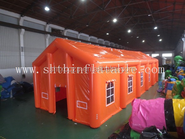 gaint air tent inflatable, house-shaped tent for sale