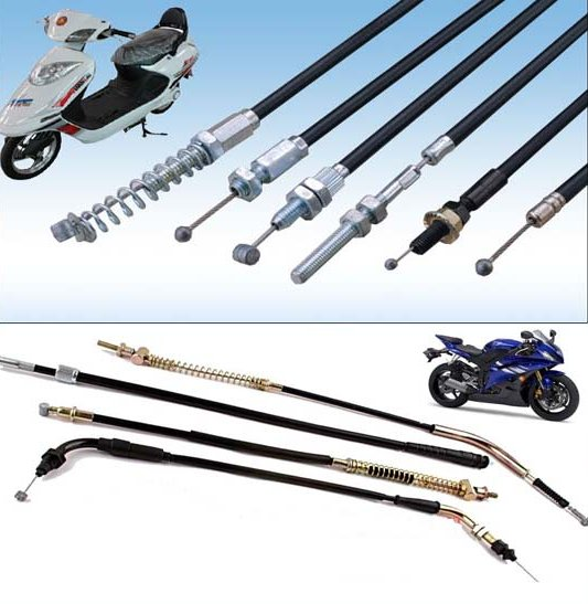 5.0mm PE Housing Motorcycle Brake Control Cable,High quality customized brake cables for Motorcycle Parts