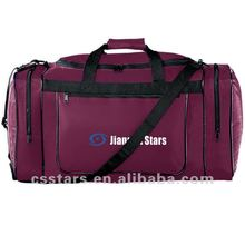 Maroon sportswear shoulder strap gear bag