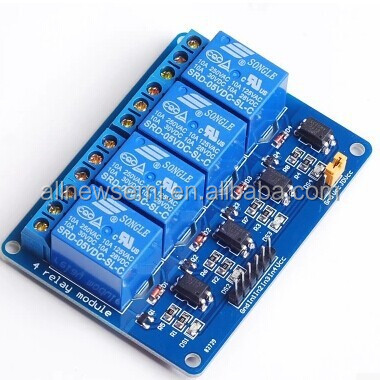 4 relay module optocoupler PLC module control board 5v12v24v optional