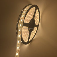 UL Listed Waterproof 12V 4.32W Per Ft 18LED 360LM Per Ft 16.4FT Roll 80RA CRI Warm White 3000K 5050SMD LED Tape LED Strip