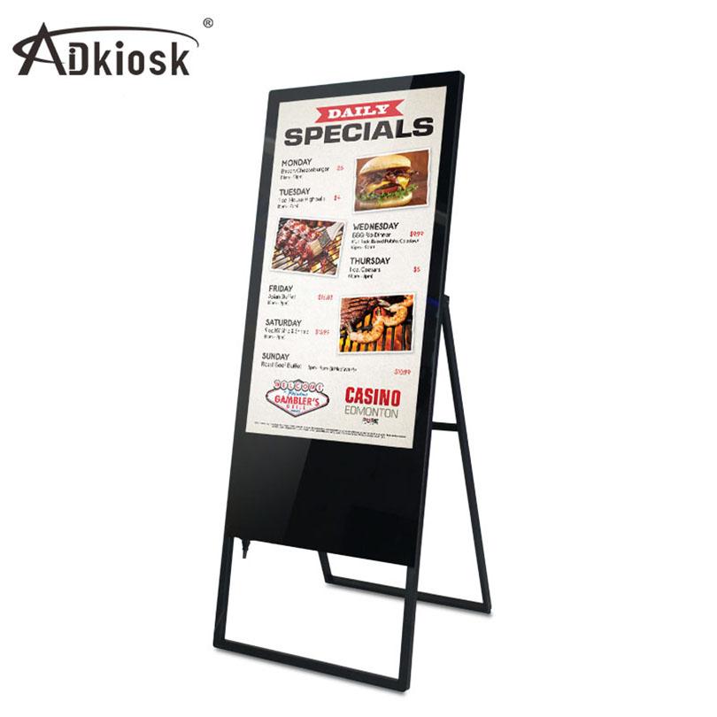 43-86 Zoll Stand Acryl Led Einkaufszentrum Wifi Restaurant Lcd ...