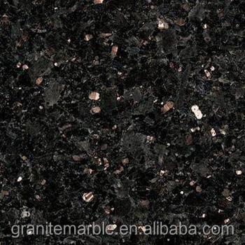 Black galaxy granite tile for granite floor and stairs with low price