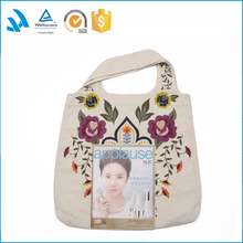 Wholesale Fashional guangzhou women's canvas shopping handbag