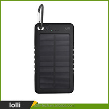 Top selling products 2017 4000 mah waterproof 200 ma phone power bank of solar products