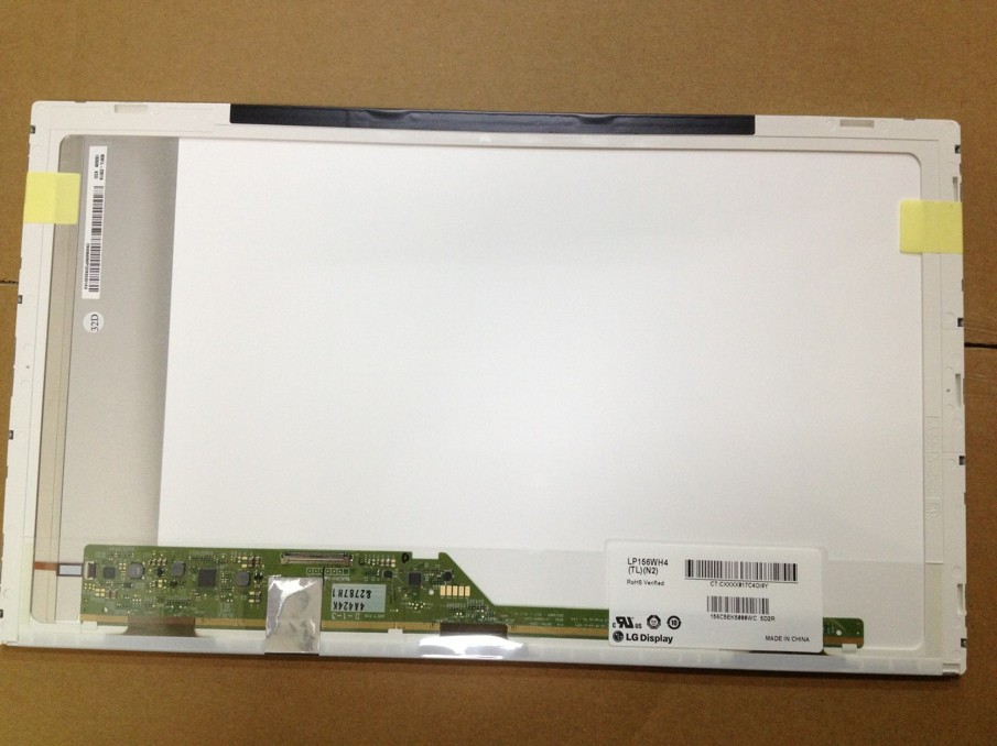 TOP Laptop Screen Supplier for 15.6 LED LTN156AT32 N156B6-L0B LP156WH4 laptop screen