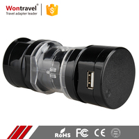 Promotion Hotel Airport Travel Use Universal Power Adaptor Singapore Swiss Asia AC DC 12V Adapter