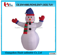 Good quality christmas inflatable snowman decoration