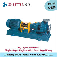 IS/IR/IH water usage and electric power diesel water pump
