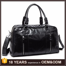 High Quality Genuine Leather Handbags for Men Traveling