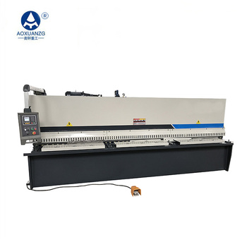 China QC12K-4*6000 hydraulic sheet metal shearing cutting machine with E21S system