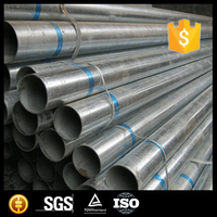 round steel pipe/tubes galvanized/black annealing for construction on sale