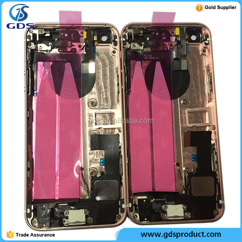 Full Back Housing Cover Complete Middle Frame Chassis Battery Door Case For Phone SE