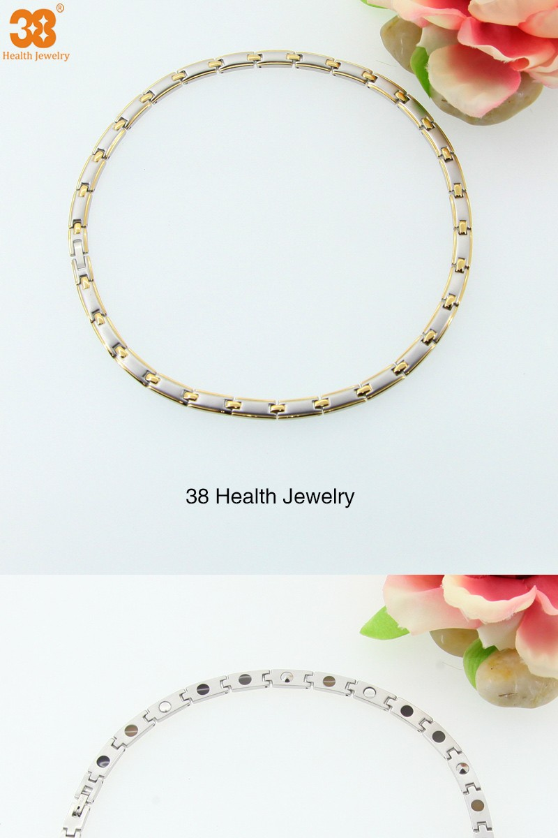 5 in 1 magnetic germanium necklace for jewelry