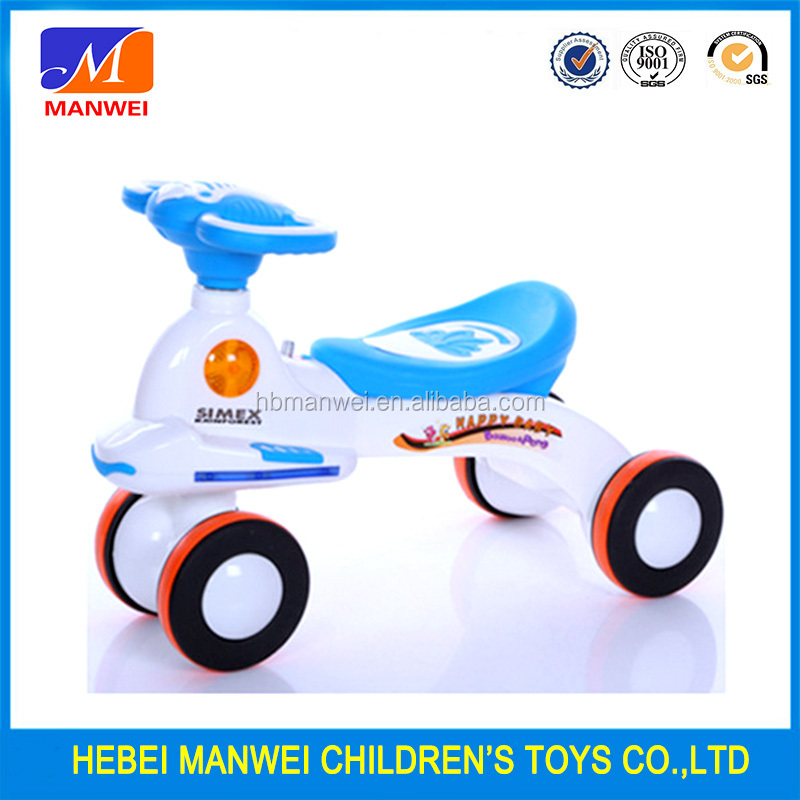 New Model Original PP plastic Animal baby play cars baby swing cars child toy cars