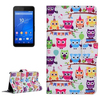 Cheap Price Wallet Style Flip Leather Cover Case for Sony Xperia E4g