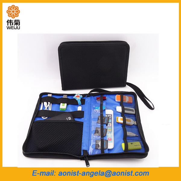 Cable Organizer Bag Travel Gear Organizer, Electronics Accessories Bag, Phone Charger Carry Case