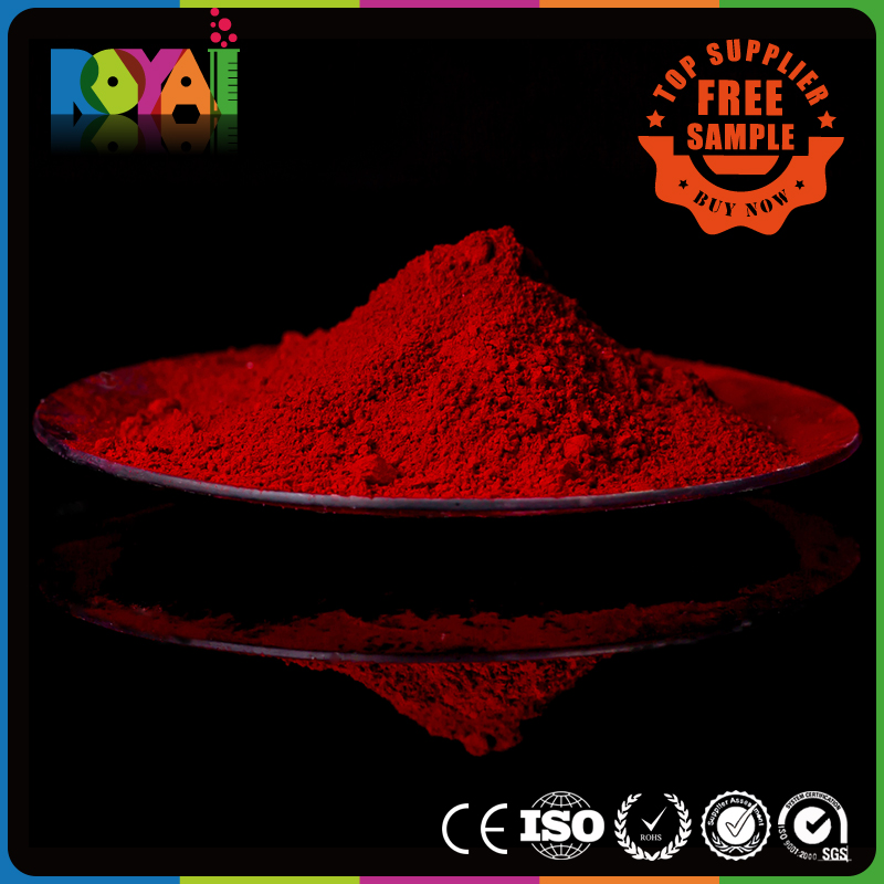 Royai Colors Superior Offer Organic Pigments Apply for plastic ,rubber,leather,painting ,ink,coating. Pigments Red 254