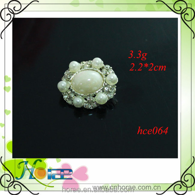 crystal pearl button, wedding embellishment crafting DIY accessory