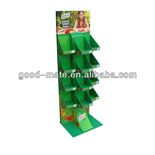 Customized Fruit and Vegetable Display Shelves and Stand