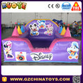Commercial funny inflatable ball pit with plastic balls for sale