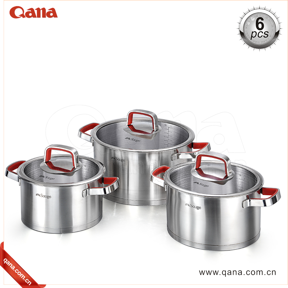 2017 New design stainless steel cookware
