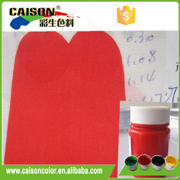 Hot selling tekstil bask pigment pasta
