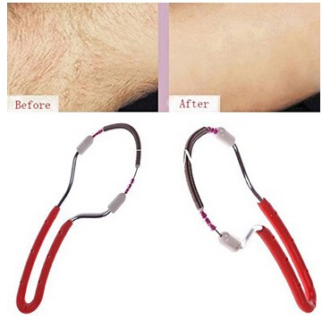 New Design Handheld Facial Hair Removal Threading Beauty Epilator Roller For Arm Face Legs