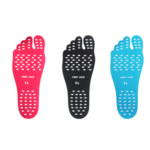 New Design Custom Stick-on Soles Barefeet Nakefit Sticker Invisible Shoes for Man/ Woman/ Children