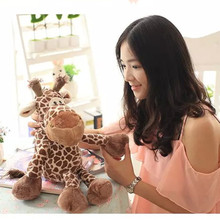 lovely small cotton toy for baby soft giraffe stuffed animals