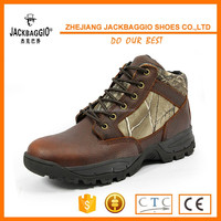 Hot sales men's brand steel toe industrial safety boot