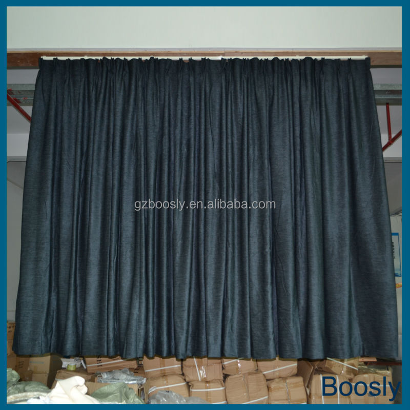 Hot sale blackout hotel curtains shade drapery curtains for Hotel drapes for sale