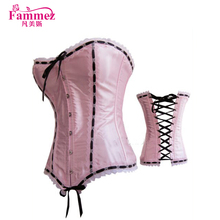 Lovely 2609 pink turkish sex women photo sexy corset leather corset for young girl