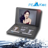 15 inch portable hd car headrest monitor DVD player game frequency modulation infrared DVD SD USB