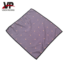 Microfiber eyeglass cleaning cloth custom pattern
