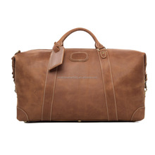 Hot Sell Rough Style Mens Leather Big Travel Bag DZ07