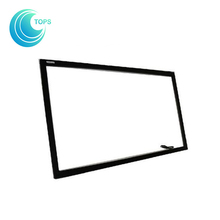 Hot sale 10 points diy ir usb capacitive touch screen sensor panel