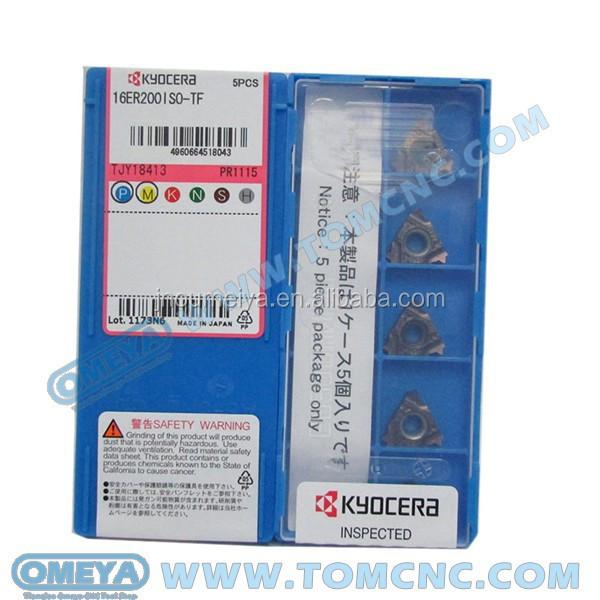 5PCS//Box New Kyocera CNC Blade 16ERG60-TF PR1115