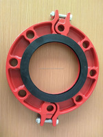 FM UL Approved ductile iron split flange, Water Supply and Sewage usage 11/2''48